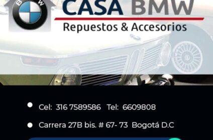 DIRECTORIO EMPRESAS COLOMBIA - REPUESTOS BMW EN EL 7 DE AGOSTO