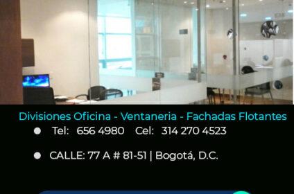 DIVISIONES DE OFICNA EN VIDRIO | DIRECTORIO DE EMPRESAS